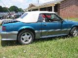 1990 Ford Mustang 5.0 Automatic AOD - Teal & Silver - Image 2