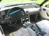 1990 Ford Mustang 5.0 Automatic AOD - Teal & Silver - Image 3
