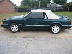 Parts Cars - 1990 Ford Mustang 5.0 HO T-5 Five Speed - Green