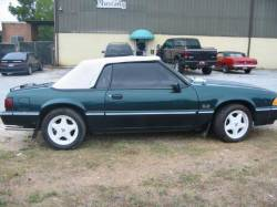 1990 Ford Mustang 5.0 HO T-5 Five Speed - Green - Image 2
