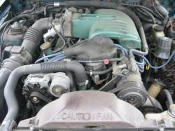 1990 Ford Mustang 5.0 HO T-5 Five Speed - Green - Image 4