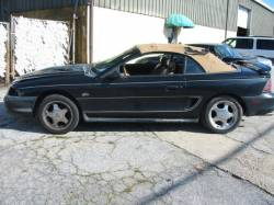 1995 Ford Mustang 5.0 AOD-E Automatic - Black / Tan Top - Image 1