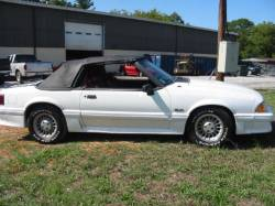 1990 Ford Mustang 5.0 HO T-5 Five Speed - White - Image 2