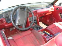1990 Ford Mustang 5.0 HO T-5 Five Speed - White - Image 3