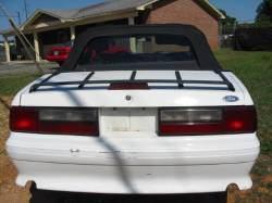 1990 Ford Mustang 5.0 HO T-5 Five Speed - White - Image 5