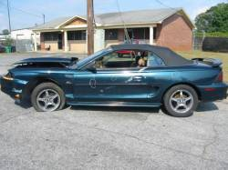 1995 Ford Mustang 5.0 AOD E Automatic - Green - Image 1