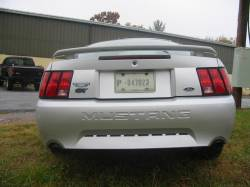 2003 Ford Mustang 4.6L SOHC Automatic- Silver - Image 1