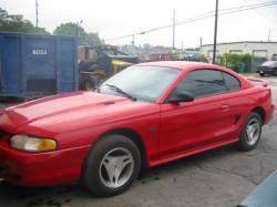 1995 Ford Mustang 5.0 AODE Automatic - Red - Image 1