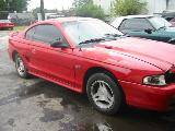 1995 Ford Mustang 5.0 AODE Automatic - Red - Image 2