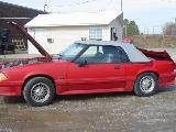 1990 Ford Mustang 5.0 HO T-5 Five Speed - Red - Image 2