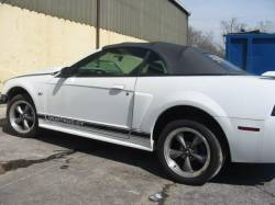 2003 Ford Mustang 4.6L SOHC Automatic- White - Image 1