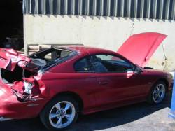 1995 Ford Mustang 5.0 AOD-E Automatic - Red - Image 2