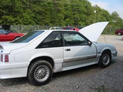 1990 Ford Mustang 5.0 L Auto AOD - White - Image 1