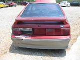1990 Ford Mustang 5.0 HO T-5 - Red and Gray - Image 5