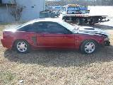 2003 Ford Mustang 4.6 L 5 Speed- Black & Red - Image 2