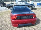 2003 Ford Mustang 4.6 L 5 Speed- Black & Red - Image 5