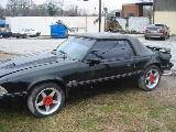1991 Ford Mustang 5.0 HO Automatic - Black - Image 2