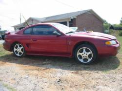 1994-1998 - Parts Cars - 1995 Ford Mustang 4.6 Cobra 5 Speed - Red