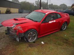 2003 Ford Mustang 4.6 3650 Tremec 5- Speed - Red - Image 1
