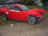 2003 Ford Mustang 4.6 3650 Tremec 5- Speed - Red - Image 2