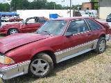 1991 Ford Mustang 5.0 HO Automatic - Red - Image 2