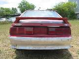 1991 Ford Mustang 5.0 HO Automatic - Red - Image 3