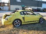2003 Ford Mustang 4.6 4V Cobra Tremec 3650 5-Speed- Yellow - Image 2