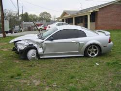 2003 Ford Mustang 4.6 5-Speed 3650- Silver - Image 1