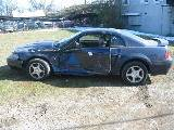 2003 Ford Mustang V-6 Automatic-Blue - Image 2