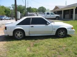 1991 Ford Mustang 5.0 Automatic AOD - White - Image 1
