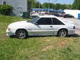 1991 Ford Mustang 5.0 Automatic AOD - White - Image 2