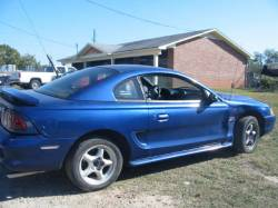Parts Cars - 1996 Ford Mustang 4.6 Automatic - Blue