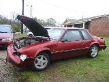1991 Ford Mustang 5.0 Automatic - Red - Image 2
