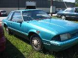 1991 Ford Mustang 4-Cyl Automatic - Blue - Image 2