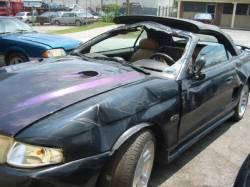 1996 Ford Mustang 4.6 2V 5-Speed T-45- Black & Mystic - Image 1