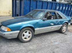 1991 Ford Mustang 5.0 Auto - Teal & Silver - Image 1