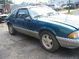 1991 Ford Mustang 5.0 Auto - Teal & Silver - Image 2