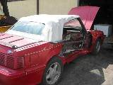 1991 Ford Mustang 5.0 HO Automatic AOD - Red - Image 2