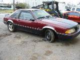 1991 Ford Mustang 5.0 AOD-E - Black/Maroon - Image 2