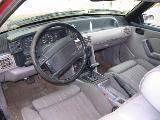 1991 Ford Mustang 5.0 AOD-E - Black/Maroon - Image 3