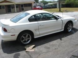 1996 Ford Mustang COBRA 4.6 4V T-45 Five Speed - White - Image 2