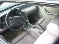 1991 Ford Mustang 5.0 HO AOD Automatic - Green & Silver - Image 3