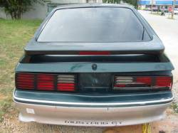 1991 Ford Mustang 5.0 HO AOD Automatic - Green & Silver - Image 5