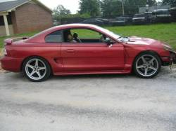 1996 Ford Mustang Cobra 4.6 4V T-45 Five Speed - Red - Image 2