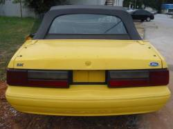 1991 Ford Mustang 5.0 HO T-5 Five Speed - Yellow - Image 5
