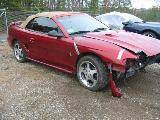 1996 Ford Mustang Cobra T-45 Five Speed - Red - Image 2