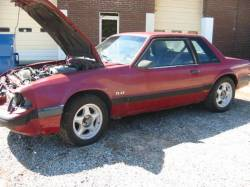 Parts Cars - 1991 Ford Mustang 5.0 HO AOD Automatic - Burgundy