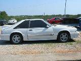 1991 Ford Mustang 5.0 HO T-5 Five Speed - White - Image 2