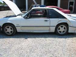 Parts Cars - 1991 Ford Mustang 5.0 HO T-5 Five Speed - White