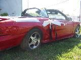 1997 Ford Mustang 4.6L DOHC T-45 - Red - Image 2